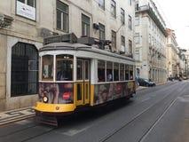 Portugeese-Tram stockfotos