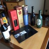 Portugese Alcoholische drankinzameling Stock Foto