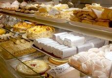 Portugese bakkerij Stock Afbeeldingen