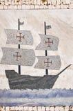 Portugese caravel Royalty-vrije Stock Afbeeldingen