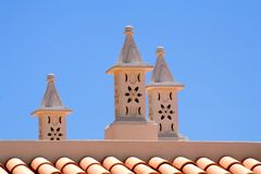 Portugese Chimneys Stock Photos