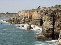 Portugese coastal scenery Royalty Free Stock Photography