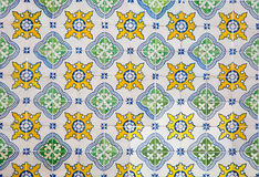 Portugese decoratieve tegelsazulejos stock foto's