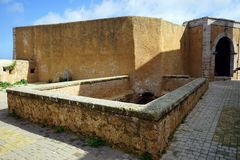 Portugese fortress in El Jadida. EL JADIDA, MOROCCO - CIRCA MARCH 2018 Portugese fortress Stock Images
