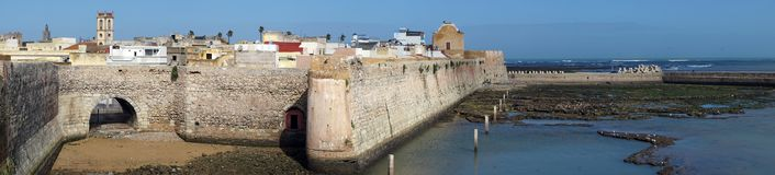 Portugese fortress in El Jadida Stock Photography