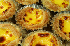 Portugese gebakjes royalty-vrije stock afbeelding