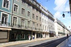 Portugese huizen Stock Foto's