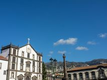 The portugese island of madeira. The City of funchal and the portugese Island of madeira Stock Photography