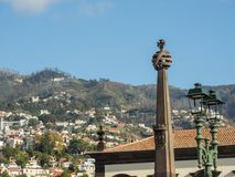 The portugese island of madeira. The City of funchal and the portugese Island of madeira Stock Images
