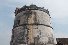 PORTUGESE LIGHTHOUSE - 17th CENTURY Stock Images