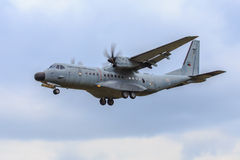 Portugese military plane Stock Photography