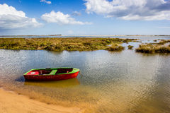 Portugese rowboat Royalty Free Stock Photography