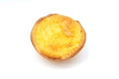 Portugese Scherpe Vla (Pasteis DE Natas) stock afbeelding
