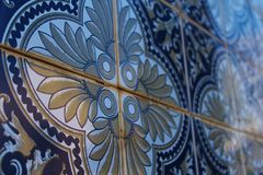 Portugese Wall Tiles Royalty Free Stock Photo