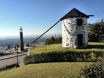 Portugese Windmolen stock afbeelding