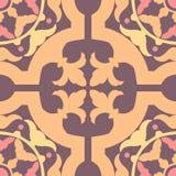 Portugiese deckt nahtloses Muster mit Ziegeln Weinlesehintergrund - Victoria Lizenzfreie Stockfotografie