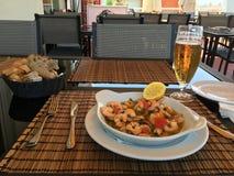 Portugiesische Küche Lizenzfreies Stockfoto