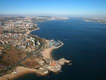Portugiesische Küste und Strand stockfotografie