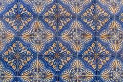 Portugiesische Keramikfliesen stockfoto