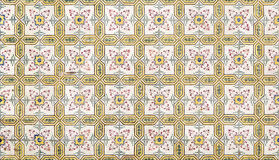 Portugiesische keramische azulejos Stockfotografie