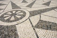 Portugiesische Plasterung - Beschaffenheit Lizenzfreie Stockfotos