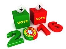 Portugiesische Wahlen 2016 Stockfotos