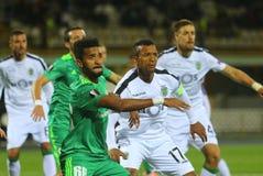 Portugiesischer Profi-Fußballspieler Nani stockfotografie