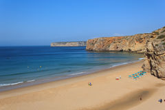 Portugiesischer Strand Lizenzfreie Stockfotografie