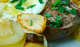 Portugiesisches Art-Steak Stockfoto