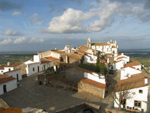 Portugiesisches Dorf Stockfoto