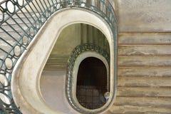 Portugiesisches Treppenhaus, Lisbona Stockbild