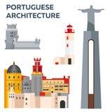 Portugis Architcture Lopp till Portugal också vektor för coreldrawillustration Fotografering för Bildbyråer
