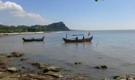 Portugis van de berg witte benteng van Jeparaindonesië Stock Fotografie