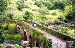 Portugisisk bro Arkivfoton
