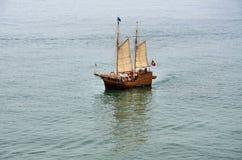 Portugisisk caravel Arkivbilder