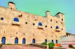 Portugisisk fästning i Safi, Marocko Fotografering för Bildbyråer