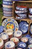 portugisisk keramik Arkivfoton