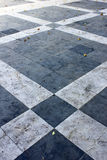 Portugisisk trottoar Arkivfoton
