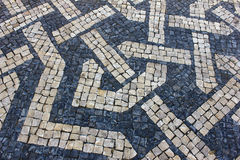 Portugisisk trottoar Royaltyfri Fotografi