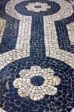 Portugisisk trottoar Arkivbilder