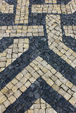 Portugisisk trottoar Fotografering för Bildbyråer