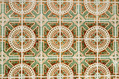 Portugisiska azulejos Arkivfoto