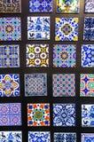portugisiska tegelplattor arkivbilder