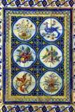 Portugisiska tegelplattor Fotografering för Bildbyråer