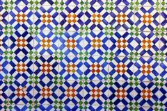Portugisiska tegelplattor Arkivfoto