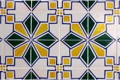Portugisiska tegelplattor Royaltyfri Fotografi
