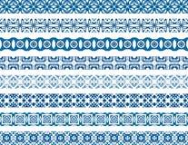portugisiska tegelplattor royaltyfri illustrationer