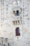 Português da torre de Belém fotografia de stock royalty free