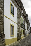 Portuguese Alentejo city of �vora old town. Royalty Free Stock Photo