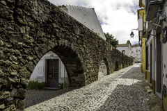 Portuguese Alentejo city of �vora old town. Stock Photo